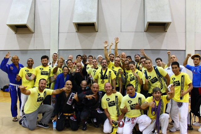 Renato Tavares celebrates team success at Miami Open