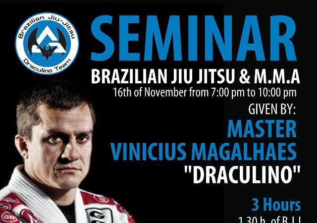 Catch a Draculino seminar in Spain