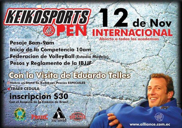Go compete in Ecuador with Telles