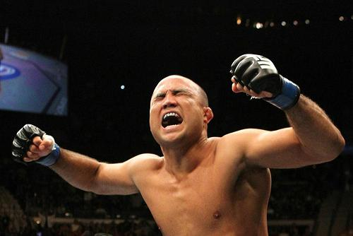 BJ Penn fighting Frank Edgar UF TUF19