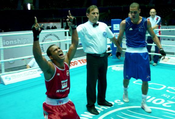 Boxe brasileiro garante três vagas em Londres