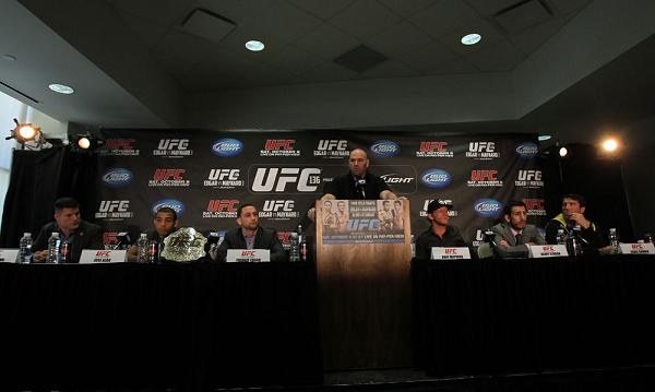 Statements from press conference led by Chael Sonnen