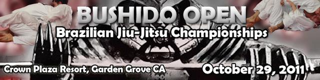 Bushido Open this weekend in California