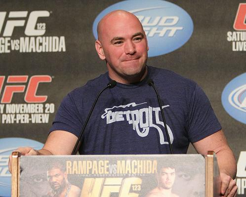 Watch Dana White return to controversy with the Nevada Athletic Commission