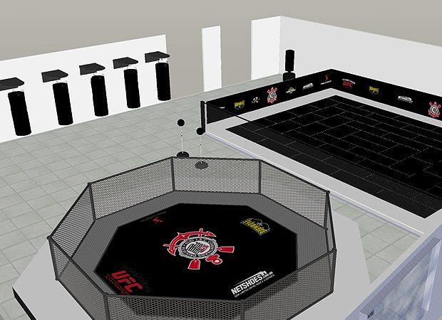 Anderson and Gabi inaugurate Corinthians MMA and Jiu-Jitsu center