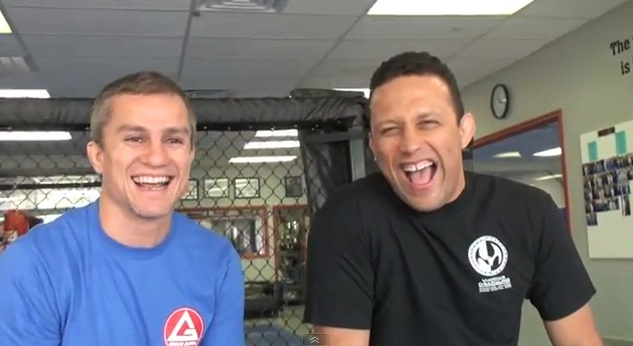 Renzo pays a visit to Gracie Barra Texas