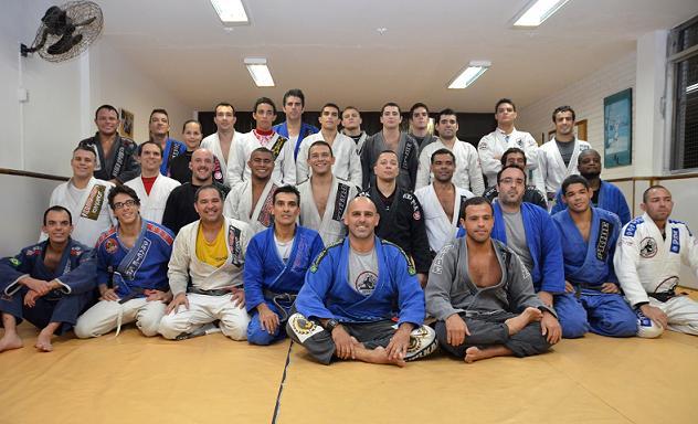 Gordo seminar at Sandro Batata JJ