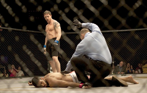 In the movies, two brothers have to face off in MMA
