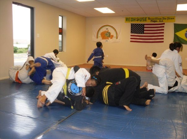 Women's only class at Redhouse JJ