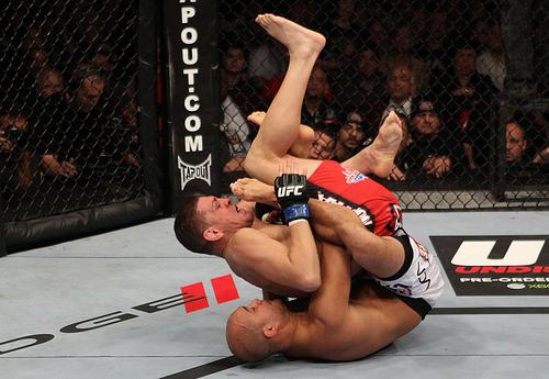 Teria BJ falhado contra Nick Diaz?
