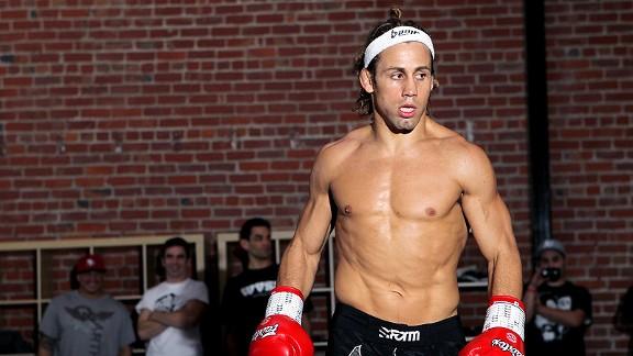 A UFC star's routine