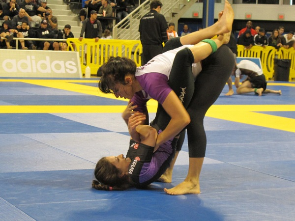 Purple belts recall their big wins at No-Gi Worlds