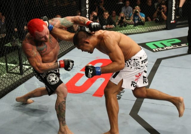 Pick up a takedown from UFC 138 standout