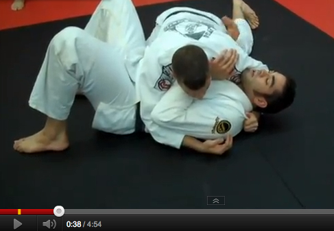 James Foster teaches how to escape side control