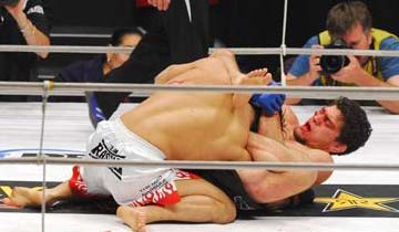 Jiu-Jitsu in MMA: Recall Nick Diaz's Gogoplata against Takanori Gomi at Pride 33