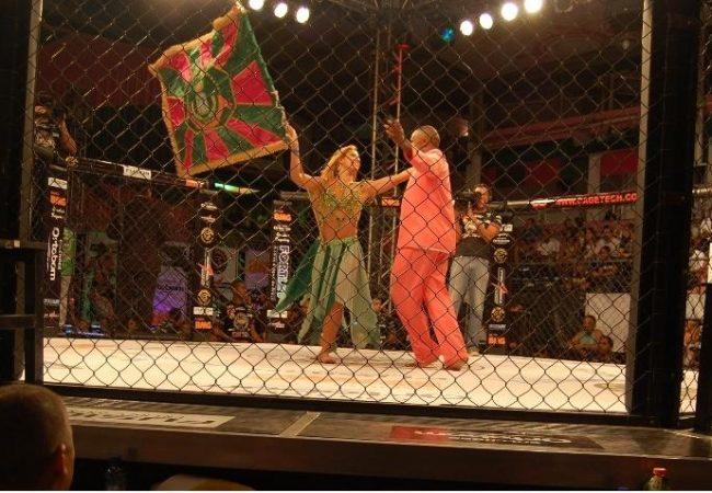 O dia em que a Mangueira deu vez ao MMA