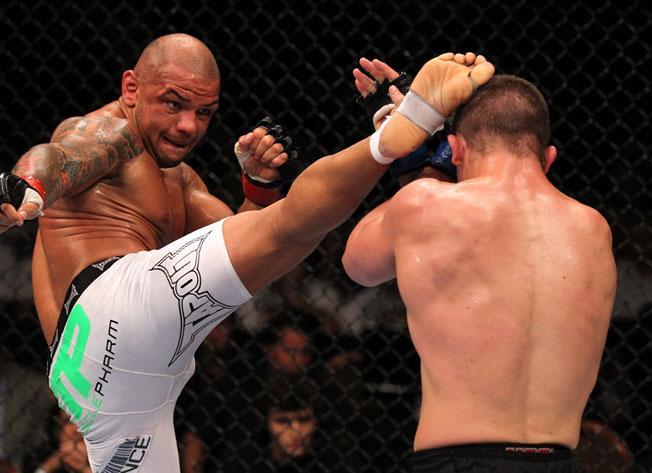 Thiago Alves. Foto: UFC.