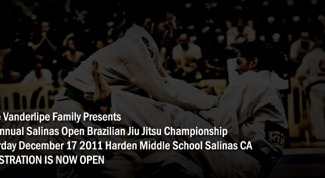 1st Annual Salinas Open BJJ Championship