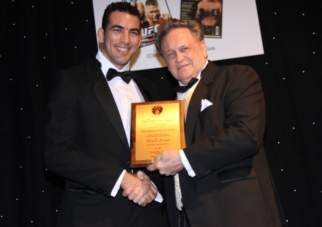 Bráulio inducted into Martial Arts Hall of Fame