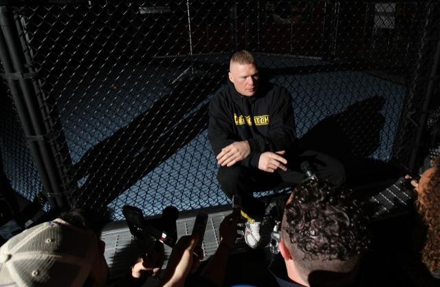 Os melhores lances da carreira de Brock Lesnar