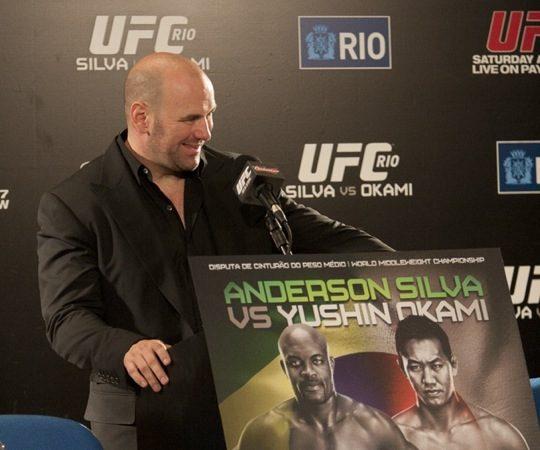 UFC Rio presser next Tuesday