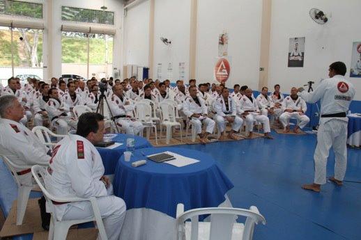 Curso de certificação da Gracie Barra atrai mais de 300 instrutores