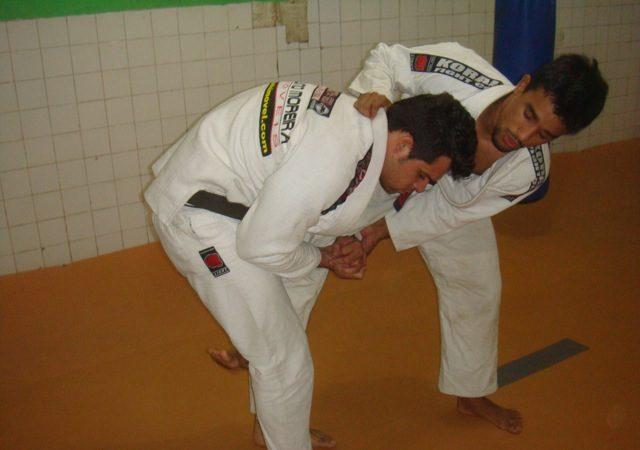 North/Northeastern Brazilian champ teaches counter with omoplata