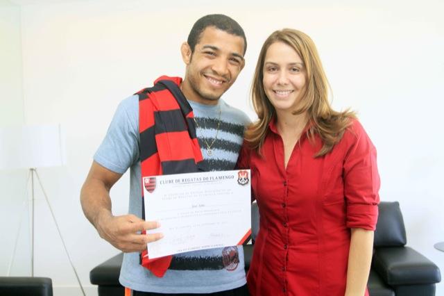 José Aldo comenta acerto com Flamengo