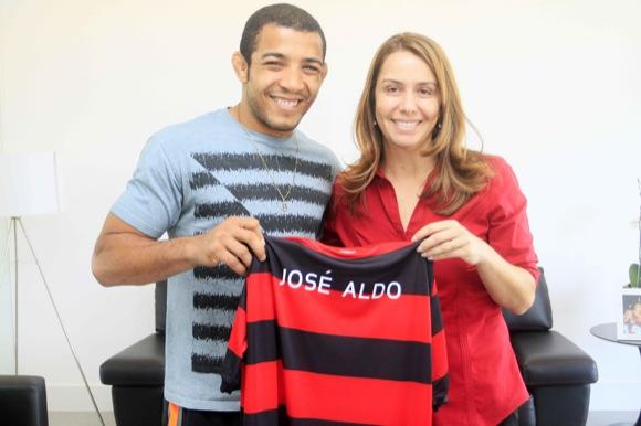 José Aldo comments on Flamengo deal