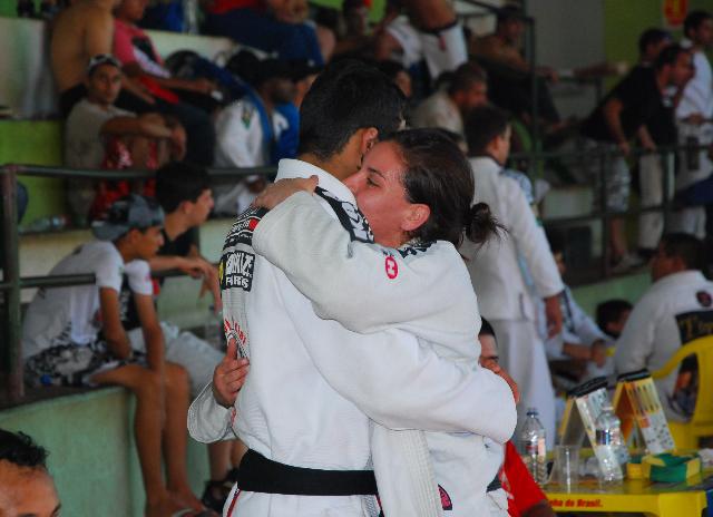 Leandro Lo e Luiza Monteiro entram na disputa de casais. Foto: Pedro Felcio.