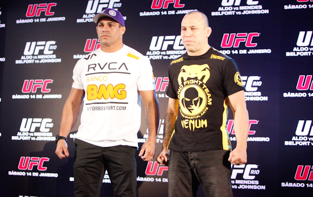 Wand, Belfort comment on being TUF Brazil coaches