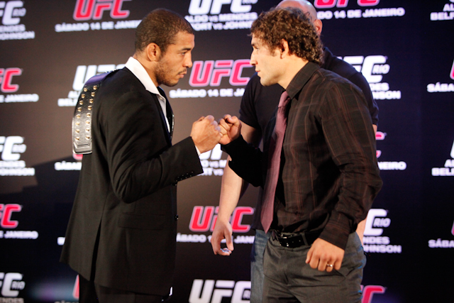 Zé Aldo, Chad Mendes on the duel at UFC 142