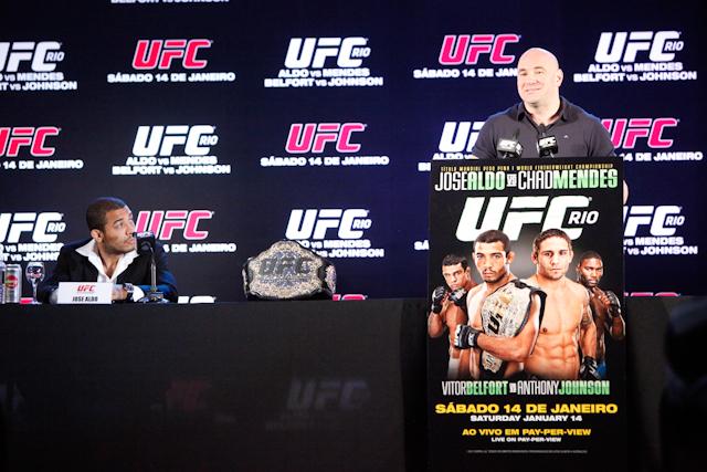 "It's ""official"": Flamengo-Vasco derby at UFC 142"