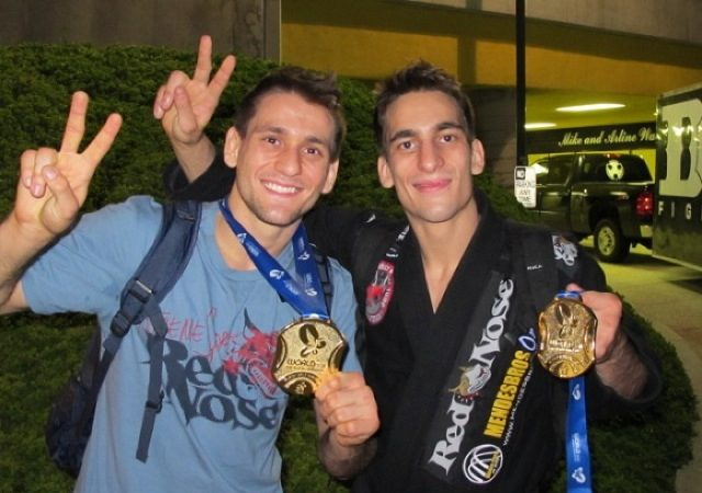 Mendes Bros at Capizzi's NYC BJJ