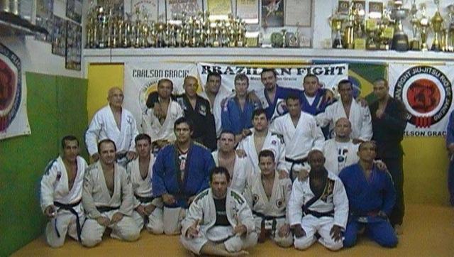 Campeão sênior gradua no Rio de Janeiro