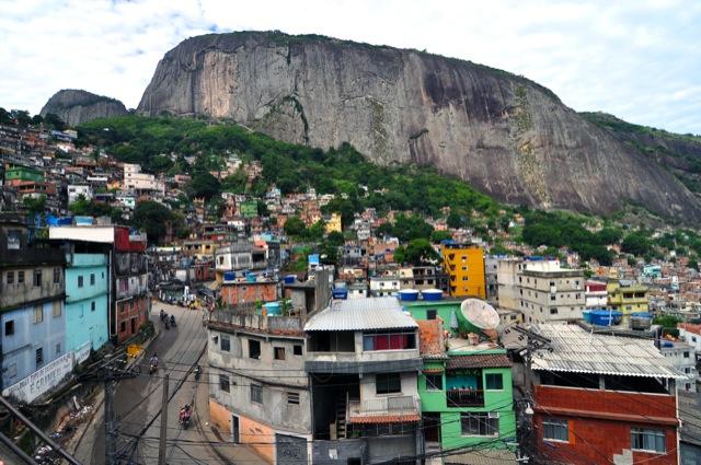 Jungle Fight at Rocinha favela January 21