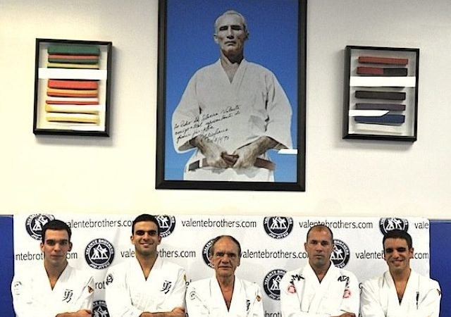 Royce attends year-end event at Gracie Miami