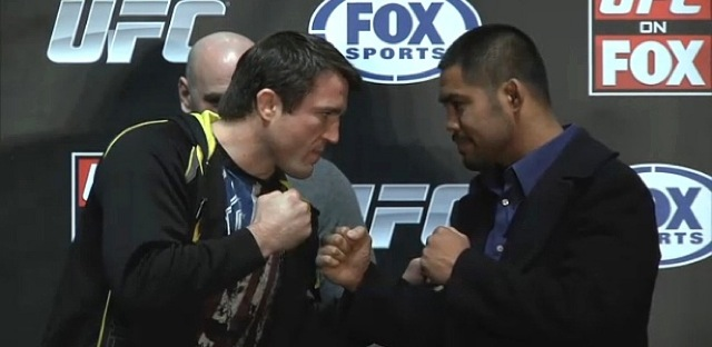 """Muñoz cuts Sonnen short: """"He's not going to have to go to Brazil!"""""""