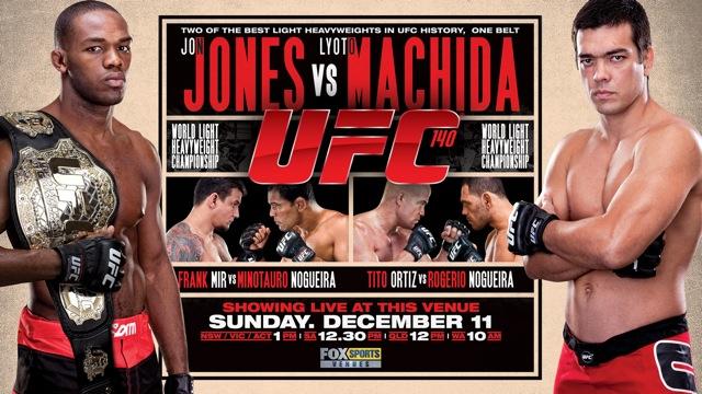 Os Pitacos do Estagiário para o UFC 140