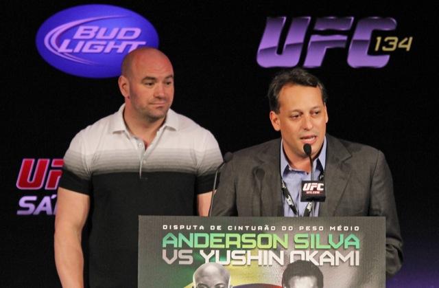 UFC retorna ao Rio no fim de 2012, diz secretário de Turismo