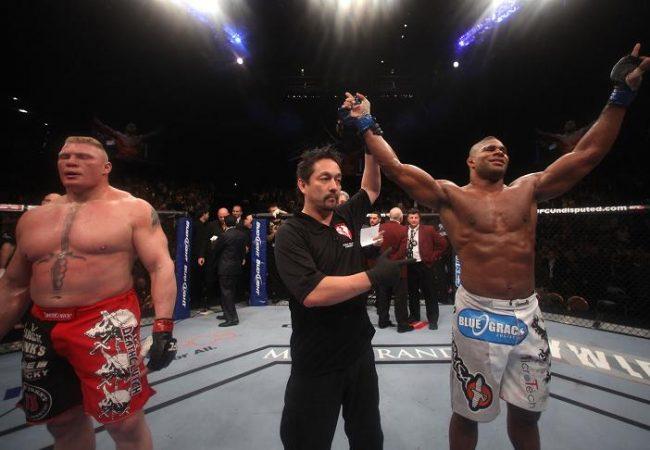 Detonado, Lesnar fatura mais alto no UFC 141; confira todos os salários