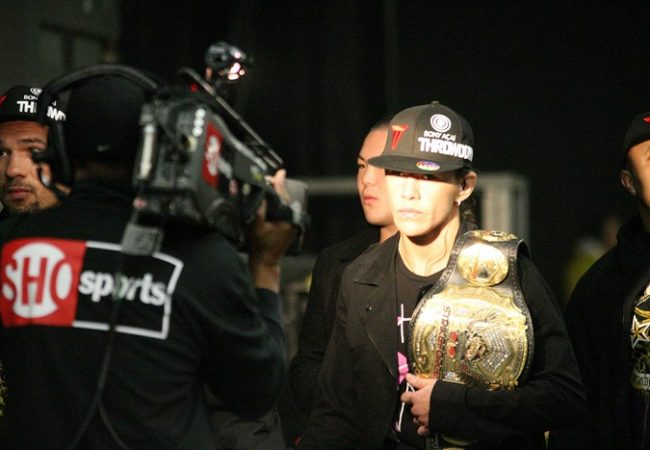 Cyborg and Melendez's victories in Strikeforce photo gallery