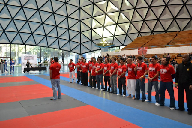 Terêncio teaches IBJJF's rules seminar in Mexico