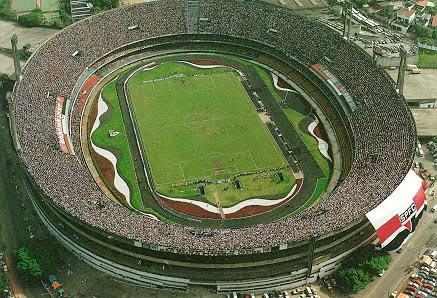 Morumbi stadium to gain cover for UFC