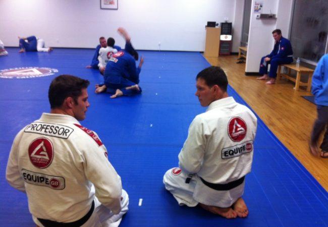 Ricardo Almeida teaches at GB Dana Point