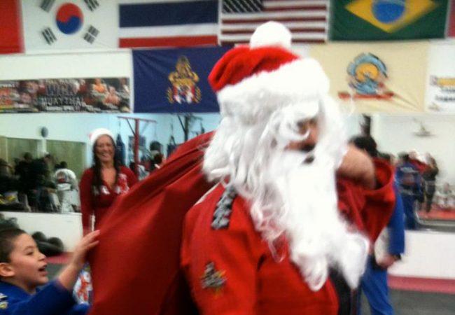 Passe a guarda com o Papai Noel