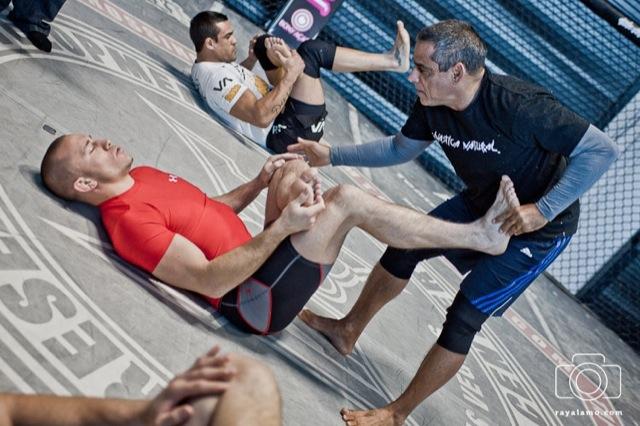 Behind the scenes – Belfort, GSP & Co training