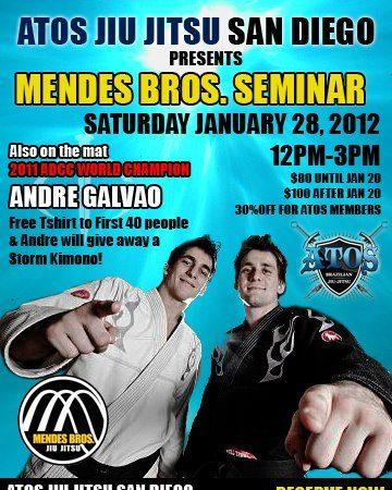 Mendes Bros at Atos JJ San Diego