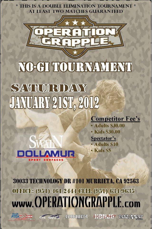 Jiu-Jitsu tournament for a good cause