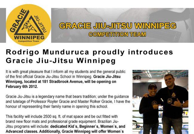 Welcome to Gracie Winnipeg